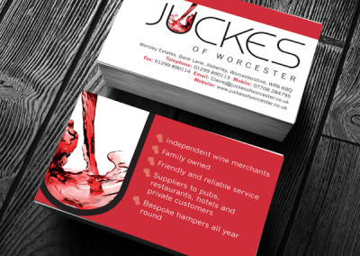 Juckes of Worcester Business Cards