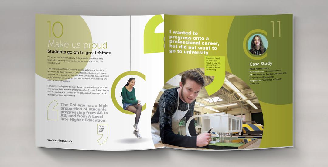 College Prospectus Birmingham  Gambit Print Management
