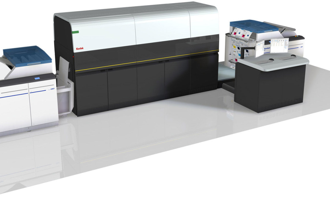 Inkjet Press 'World's Fastest' B&W Machine