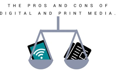 Digital Media VS. Print Media