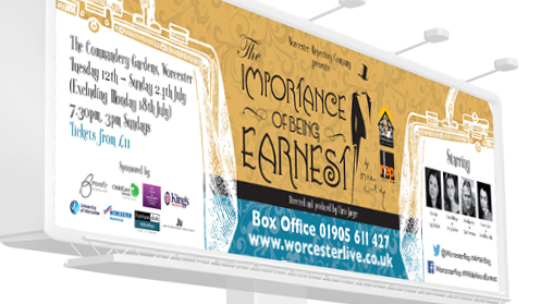 The Importance of Being Earnest – Banner