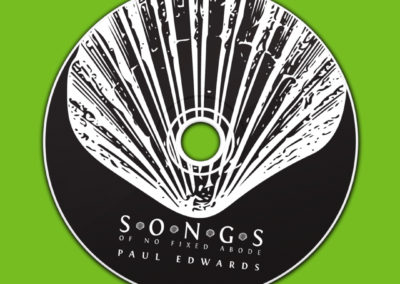 Songs Of No Fixed Abode, Paul Edwards – Album Cover