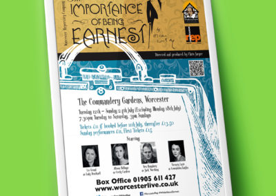The Importance Of Being Earnest – Poster