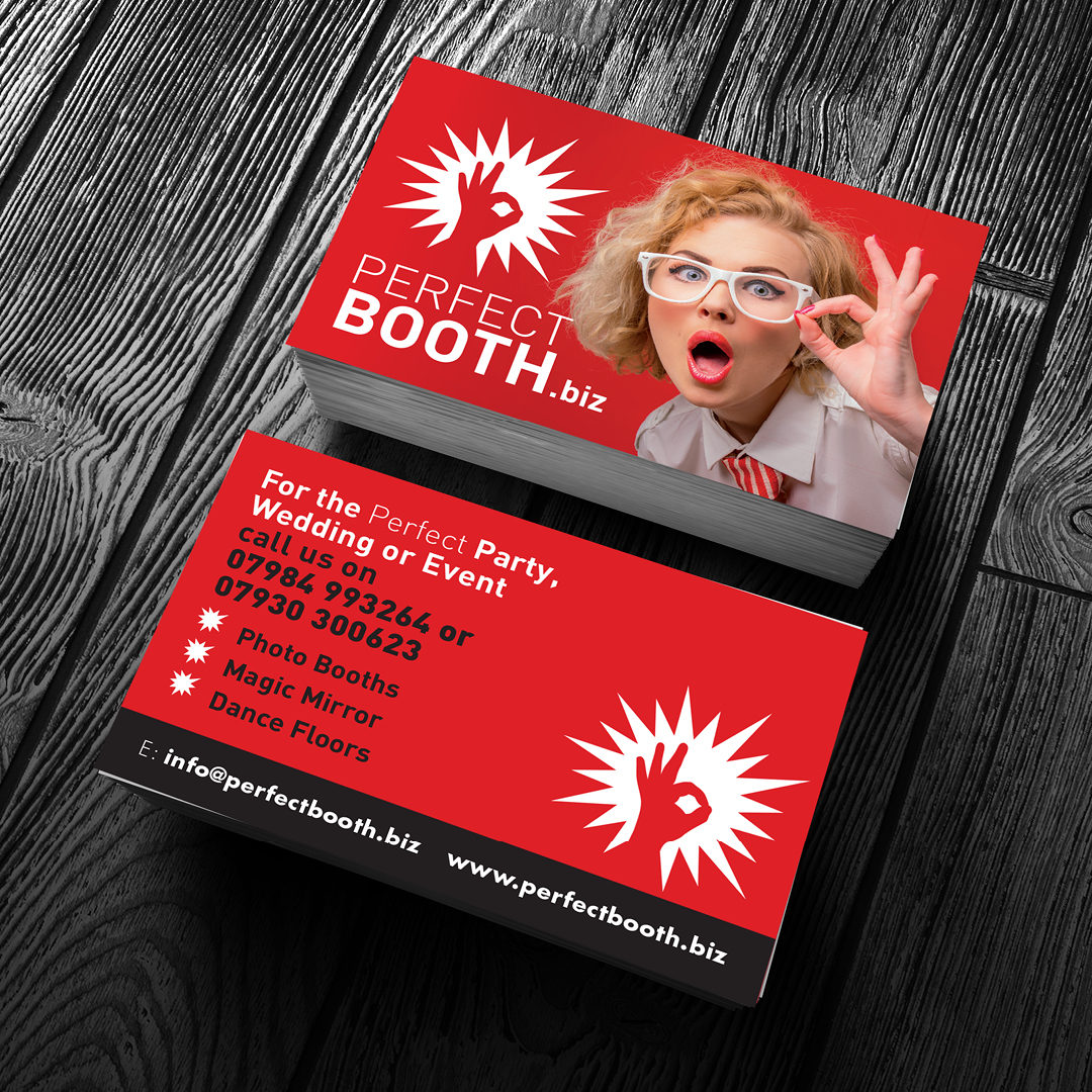 Perfect Booth – Business Cards