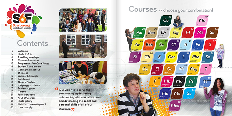 Scarborough Six Form College Prospectus 2015-16