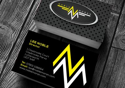 Business card printing techniques gambit print management lee noble business cards reheart Images